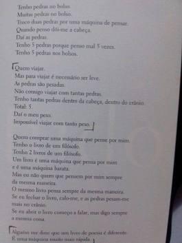 um dos poemas do escritor português