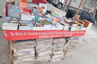 A FIM também recebe feira de livros