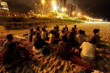 O evento é gratuito, e para participar não precisa ter experiência anterior com meditação.
