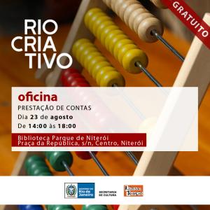 Prestação de Contas - Rio Criativo