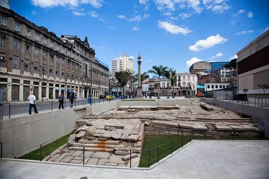 Cais do Valongo- reproduçãodewww.cidadeolimpica.com.br