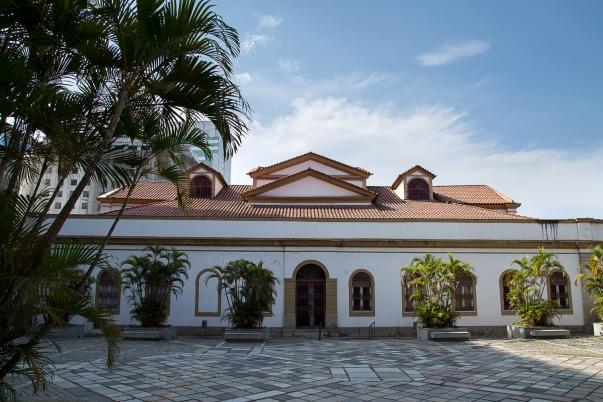 Casa França-Brasil:  fachadas